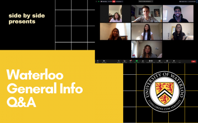 University of Waterloo Incoming First Years Q&A