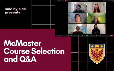 McMaster Course Selection and General Info Q&A