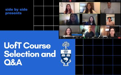 University of Toronto Course Selection and General Info Q&A