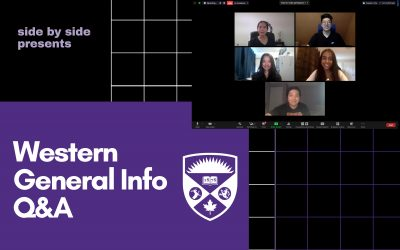Western University Incoming First Years Q&A