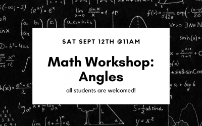Math Workshop: Angles